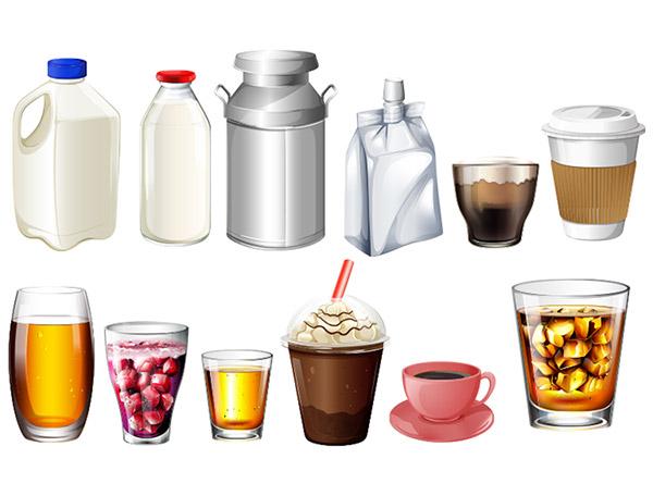 食品包装元素(1)矢量素材