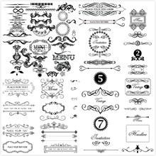 古典欧式花纹边框矢量图片