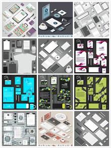 企业VI设计矢量图片