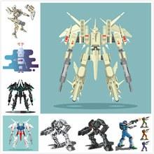 高达机器人设计矢量图片
