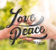 创意国际和平日海报矢量图下载