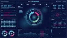 数据可视化运控系统矢量图片