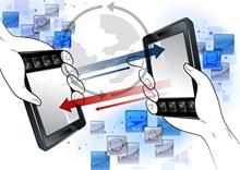 手机交互手势元素矢量图片