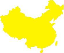 中国地图矢量素材