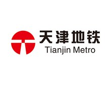 天津地铁logo标志图矢量图片