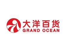 大洋百货logo标志图矢量图片