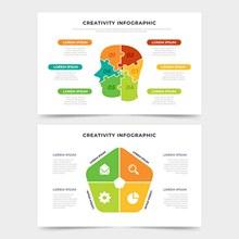 平面创意信息图概念图矢量素材