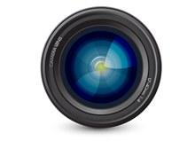 单反相机镜头矢量素材