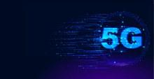 5G光效特效背景图矢量