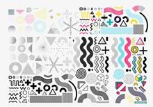 各类几何图形矢量素材
