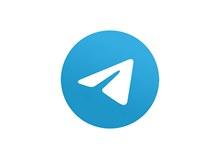 即时通信软件Telegram标志图矢量下载
