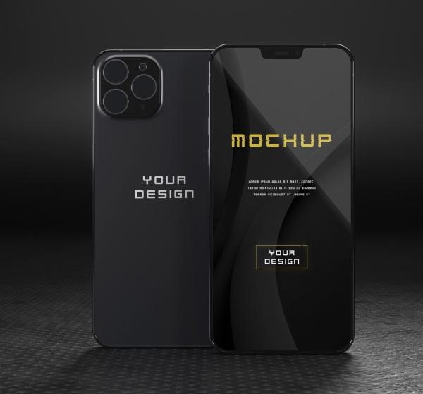 智能手机样机模型