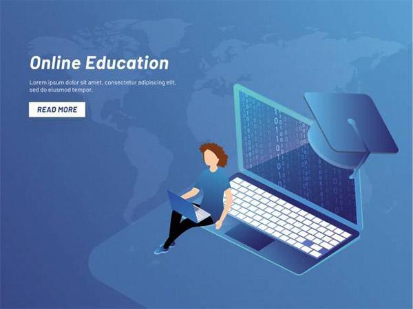 在线学习登陆页
