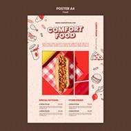 西式快餐美食菜单设计