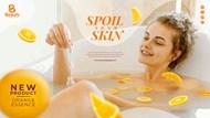 SPA护肤品宣傳海報设计