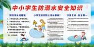 中小学生防溺水安全知识展板素材