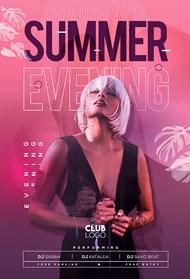 夏日激情派对宣传海报