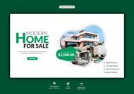 房地产网页横幅模板设计