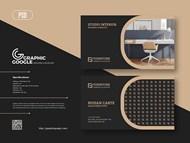 免费家具名片设计模板