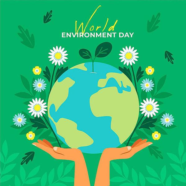 世界环境日矢量图