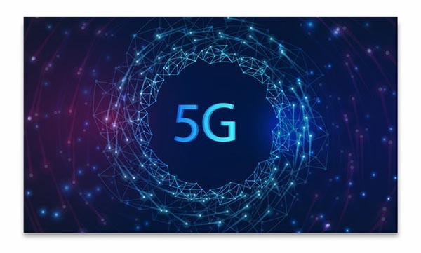 5G科技背景模板矢量素材