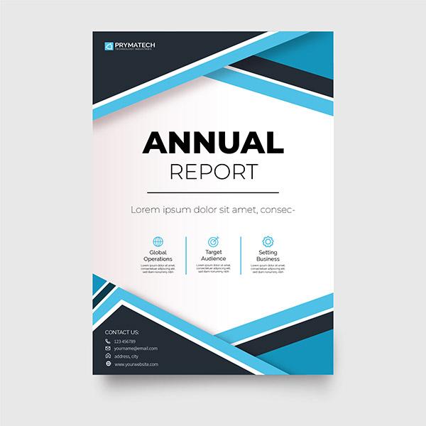 抽象图形商业手册矢量下载