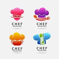 厨师标志矢量图下载