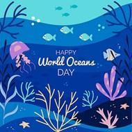 世界海洋日1矢量素材下载