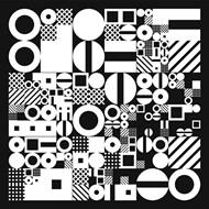 几何抽象风格矢量图下载