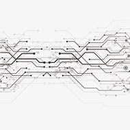 电路纹理素材矢量图