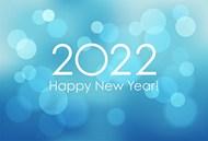 2022梦幻新年海报矢量图下载