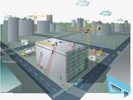 建筑施工现场插画矢量图下载