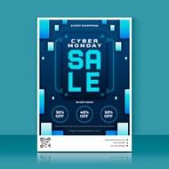 数码产品促销海报矢量图片