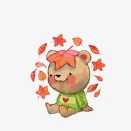可爱小熊矢量素材下载